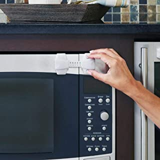 Toddleroo by North States 可调节肩带锁 | 多功能*锁适用于冰箱、橱柜、洗碗机和其他设备 | 自信婴儿防护(2件装,白色)