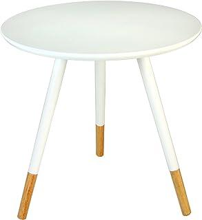 PAME 83947 – 木制侧桌,48 x 46 厘米,白色