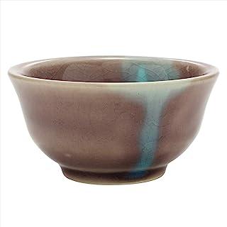美浓烧 东山 贯口 茶杯 紫色 551-0101