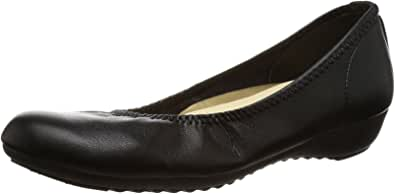 Arch Contact 日本制造 休闲浅口鞋 女士 低跟鞋 IM39085 0 黑色 24.5 cm