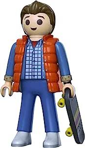 Back to the Future 马蒂麦克弗莱 6 英寸 Playmobil 超大可动公仔