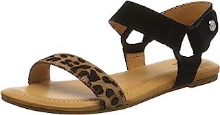 UGG 女式 Rynell 豹纹凉鞋