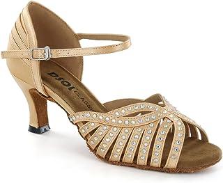 DSOL 女式拉丁舞鞋 DC285902 鞋跟 5.08cm