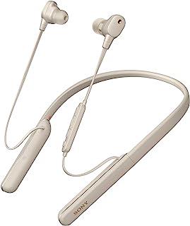 Sony 索尼 WI-1000XM2 行业领先降噪入耳式耳机带麦克风,弹性颈带风格,10小时电池寿命,快速充电,高分辨率音频,兼容 Alexa - 银色