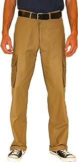 PIR Cargos 工裝褲。 Authentic WWII 軍裝設計作戰長褲。 寬松直筒。* 純棉斜紋布。