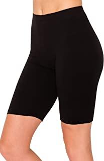 ALWAYS 女式健身瑜伽短裤 - 优质黄油柔软弹力啦队长跑步舞排球短裤带条纹