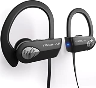 TREBLAB XR500 Bluetooth Headphones, Best Wireless Earbuds for Sports, Running or Gym Workout. 2017 Updated Version. IPX7 W...