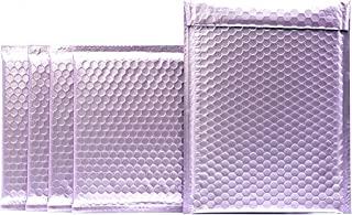 ProLine 哑光金属紫色气泡填充信封 10.5x16 英寸自密封加垫信封 (10)