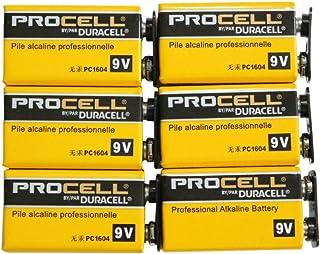 [DURACELL金霸王]PROCELL DURACELL 9V方形电池 操作器/乐器用碱性电池DP-9V-6pcs  6個