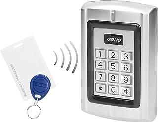 ORNO ZS-802 防水密码锁 带读卡器和非接触式钥匙链读卡器 内置内存