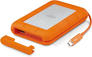 LaCie Rugged 莱斯 USB 3.0 迷你磁盘便携式硬盘 2TB