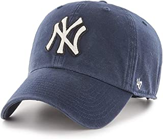 '47 MLB 纽约洋基队 Clean Up 可调节帽子,成人款
