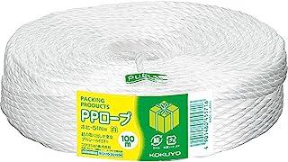 国誉 绳子 PP绳子 100m 3根捆绳 奶酪卷 白色 白色白色厚-51W