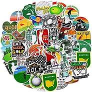 Outus 100 片乙烯基高尔夫贴纸运动贴花防水高尔夫贴纸混合笔记本电脑贴花装饰水瓶、电脑、手机、行李、吉他、冰箱、自行车