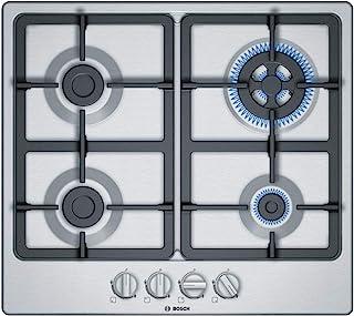 Bosch 博世 4系列 燃气炉 燃气灶 PGH6B5B90,60cm,自动点火,GasStop安全,不锈钢材质
