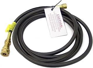 Mr. Heater 大/Tough Buddy 12 英尺 RV 软管,快速连接 x 3/8 英寸内螺纹
