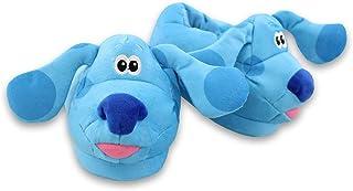 Blue's Clues & You 一脚蹬毛绒 3D 幼儿儿童拖鞋
