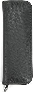 Pelikan 百利金 笔套 真皮拉链 黑色 2支装 压纹
