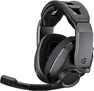 Sennheiser 森海塞尔 GSP 670 无线游戏耳机 无延迟蓝牙7.1环绕声 降噪麦克风 音频和音量控制 适用于Windows PC,PS4 - 黑色 头戴式耳机