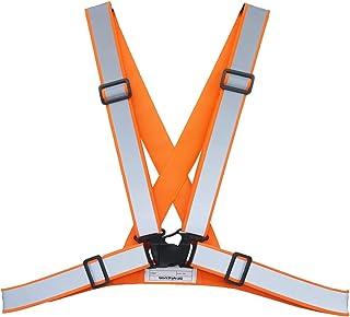 ACE *背心 反光背心 爬行型 橙色 宽反射材料 均码 WS9020