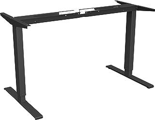 Lorell LLR25944 Quadro工作站站立式2层桌面底座黑色