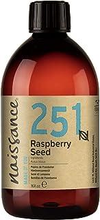 Naissance 红树莓籽油 16 液体盎司(约 473.2 毫升) - *,冷压,无香型,纯素,不含己烷,非转* - 非常适合芳香*,按摩基油,DIY *食谱