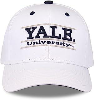 耶鲁斗牛犬成人游戏杆可调节帽子–白色,