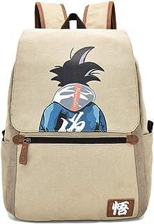Broadmix 日本动漫书包 - 火影忍者书包 单肩包龙珠帆布背包 龙珠 One_Size