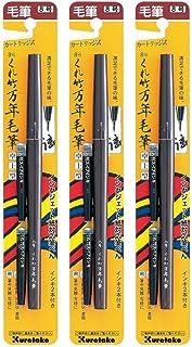 Kuretake No. 8 钢笔 (DP150-8B) 3 pens set