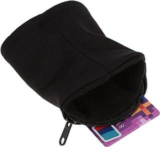 TOPINCN 拉链腕袋 防汗带 腕带 钱包 户外 运动 跑步 网球 手腕钱包 口袋 可存放钥匙、身份证、卡、现金