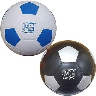 Macro 巨大 7.5 英寸(直径)*软泡沫足球,2 件套,操场球,儿童运动玩具,儿童运动玩具,儿童足球,学校操场