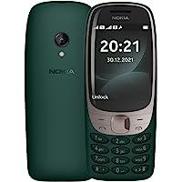 Nokia 诺基亚 6310 带弯曲显示屏 2.8 英寸显示屏 数字键盘 8 MB 内存 16 MB 内存 (32 GB…