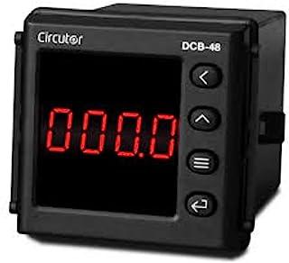 Amperemeter DCB-48 A AC 48 x 48,7.2 x 4.8 x 4.8厘米,黑色(参考:M22150)
