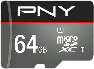 PNY 64 GB Class 10 Turbo Performance Micro SDHC Memory Card