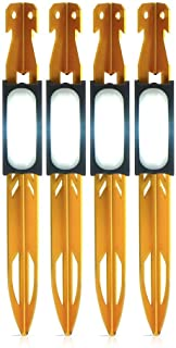 UCO StakeLight Tent Stake with LED Light and Emergency Strobe (Pack of 4)