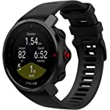 Polar Grit X - 坚固耐用的户外手表,配备 GPS、指南针、高度计,适合徒步、越野跑、山地自行车和其他运动…