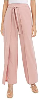 Bar III 女式粉色领带工装裤尺码 L