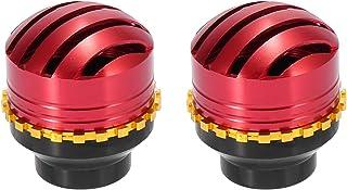 F FIERCE CYCLE 对空心摩托车车轮前叉框架滑块垫保护盖红色