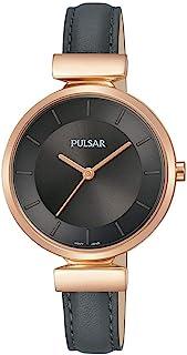 Pulsar 女士模拟石英手表不锈钢表带 PH8420X1