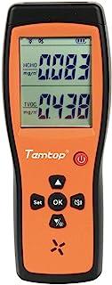 Temtop H2 空气质量检测器专业 HCHO TVOC 实时监控音频闹钟屏幕背光