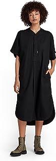 G-STAR RAW 女式棒球低圆领休闲连衣裙