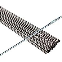 WeldingCity ER308L 不锈钢 TIG 焊接棒直径 91.44 厘米,0.45 厘米,0.79 厘米,0…