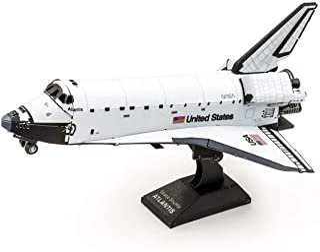 Fascinations 金属地球航天飞机亚特兰蒂斯 彩色版本 3D 金属模型套件