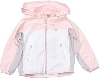 EPOCHAL 97% * UVA/UVB 防护 UPF 35 轻质户外长袖衬衫,带可拆卸连帽衫,适合女孩和男孩
