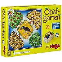 Haba 4170 骰子桌游-果園,40種木制水果,易于理解的游戲規則,適用于3歲以上兒童