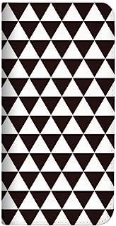Mitas ZenFone Max Pro ZB601KL 手机壳 手账型 无带 北欧 4 黑色 (398)NB-0217-BK/ZB601KL