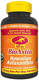Nutrex Hawaii Bioastin 夏威夷虾青素,12mg-120粒
