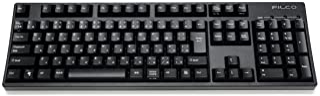 FILCO 斐尔可 Majestouch 2 键盘 108日语全尺寸 CHERRY MX棕色轴 机械键盘 USB&PS / 2 N-KeyR 黑色 FKBN108M / JB2SHK