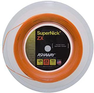 Ashaway Supernick ZX squash string (1 reel) 17 Gauge