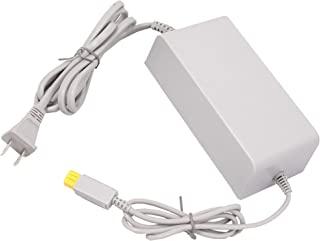 适用于 Wii U 的控制台充电器,交流适配器电源线替换,适用于 Nintendo WiiU 控制台(不兼容任天堂 Wii 控制台)